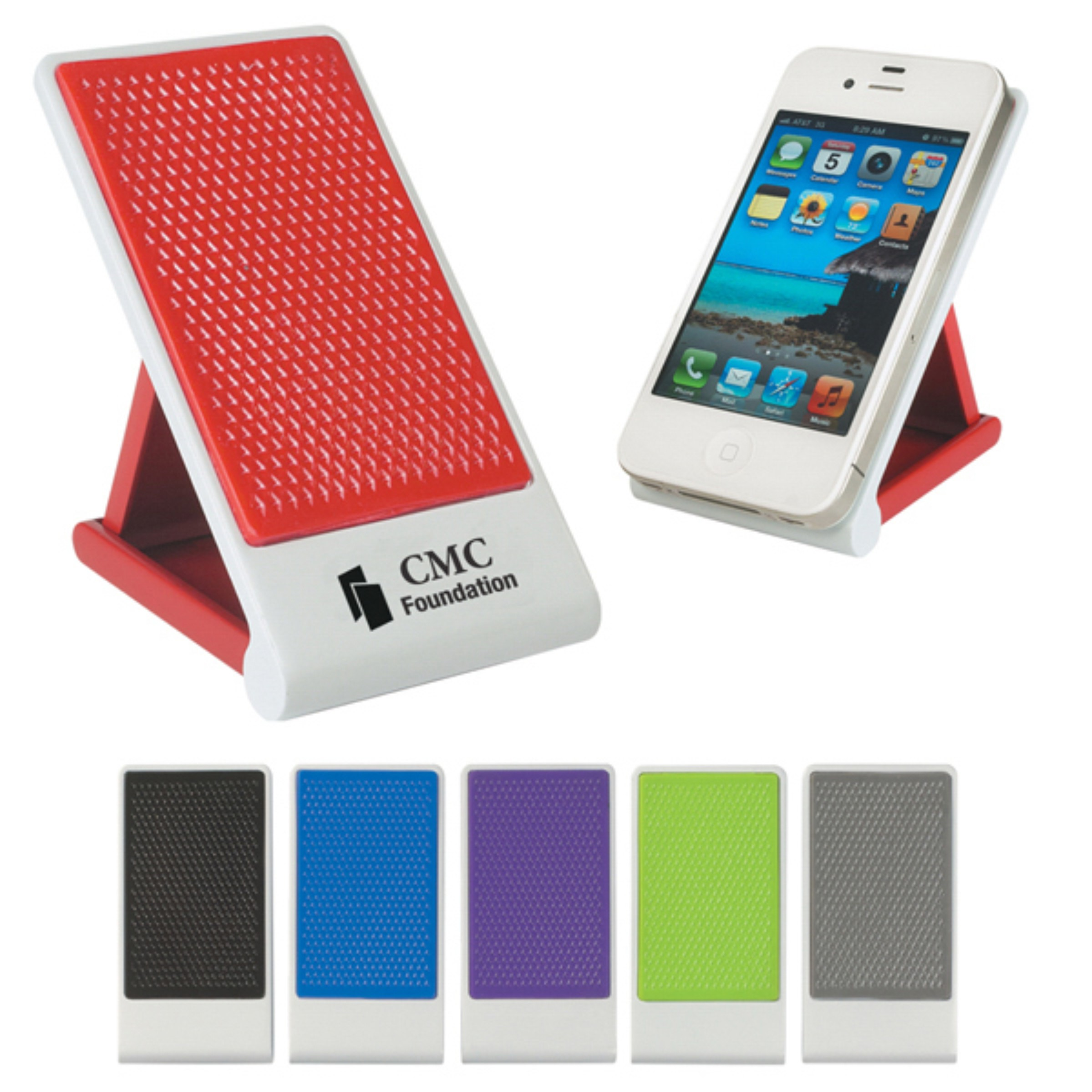 THE MEDIA PHONE STAND FOR YOUR IPHONE AND ANDROID DEVICE TO KNOW WHERE YOU  PLACED YOU PHONE IN YOUR OFFICE